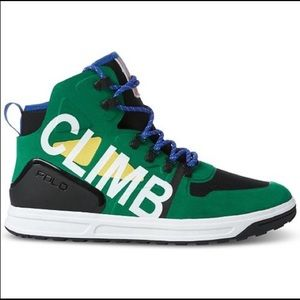 Polo Ralph Lauren Hi Top Hiking Sneakers